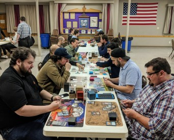 The Brawl side event, organized by Jason Dorman.