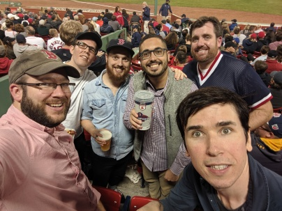 Red Sox game, NEOS and the Brothers of Fire